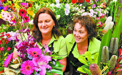 Johanna Byrne and Jeanette Clewett are heading for Sydney to create a floral masterpiece.