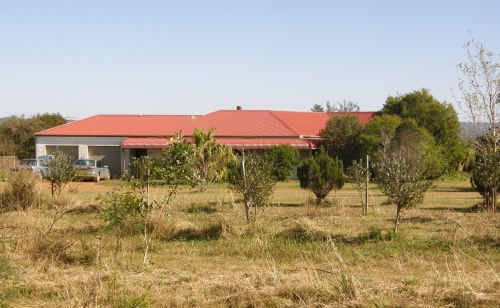 The four-bedroom homestead of a 915-hectare Lanitza property expected to fetch upwards of $1.3 million.
