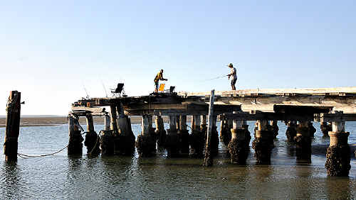 The iconic Bullock Point jetty has been earmarked for demolition by the State Government.