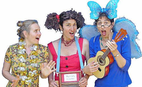 The Curly Cousins have a new kids show which they're bringing to Mullum.