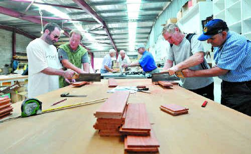 The Coffs Harbour Men's Shed is in full swing but the call has gone out for more mentors and members. Bruce Thomas