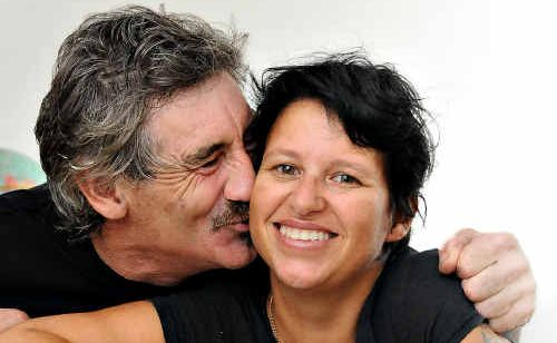 Michelle Nicoll and her partner Ken Edridge, who is giving Michelle a kidney so they can enjoy a long and happy life together.