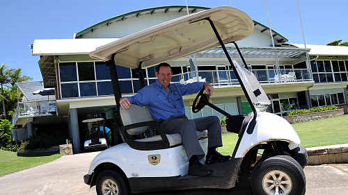 Gympie Pines Golf Club committee member Eric King hoped to save the club back in January, but now the club has lost its lease.