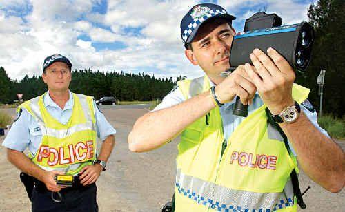 Keeping a watchful eye on Coast drivers.
