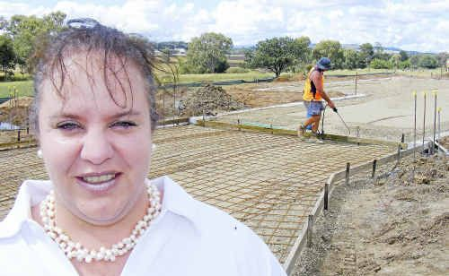 Senior style: Oak Tree manager Anna Jackson said the development will include a pool and bowls green.