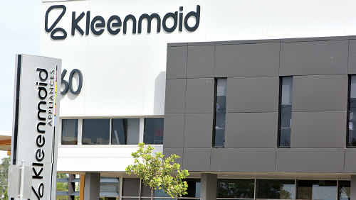 The Kleenmaid Appliances dealership.