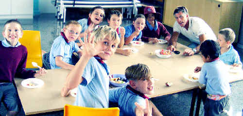 Coffs Harbour Public School students have access to a healthy and nutritious breakfast, thanks to the breakfast program.