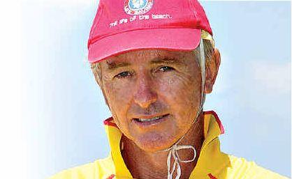 Sunshine Beach lifesaving club president Warrick Redwood.