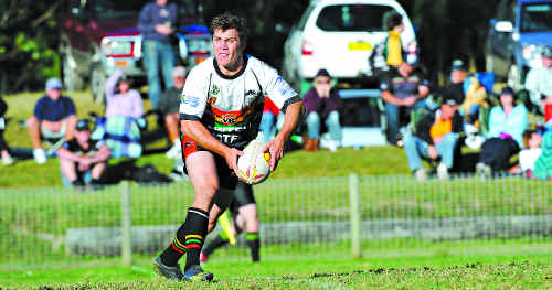 IN FORM: This weekend's opening matches of the Group 2 season is the last opportunity players like Sawtell's Luke Hemsworth (above) have of impressing representative selectors.