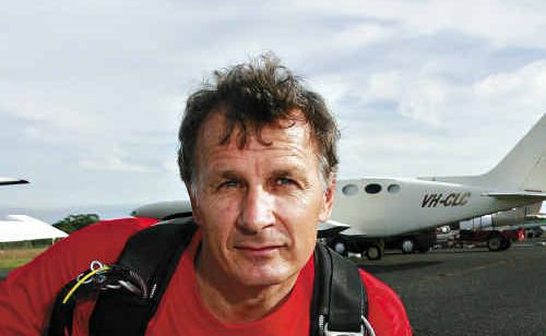 Sunshine Coast Skydivers' Tibor Glesk says about 225 employees and more than 20 businesses will be hit if Caloundra Aerodrome closed.
