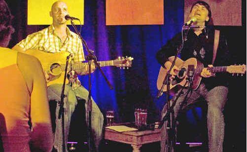 John Gift and Luke Vasella will perform at the Conservatorium's cushion CONcert on Sunday.