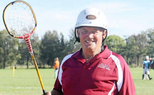 Clifton Polocrosse president George Cameron is kitted up for Queensland at the Barastoc Interstate Polocrosse Series and Shell Cup Championship.