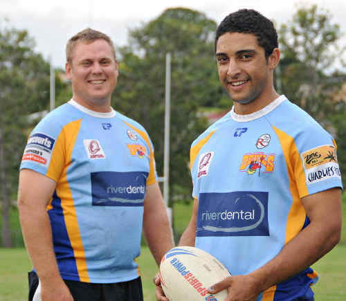 Brad English and Ben Ashford helped pile on the points to topple arch rivals, the Noosa Pirates, in enemy territory at the weekend. Ashford was particularly devastating with the ball, crossing the try line three times.