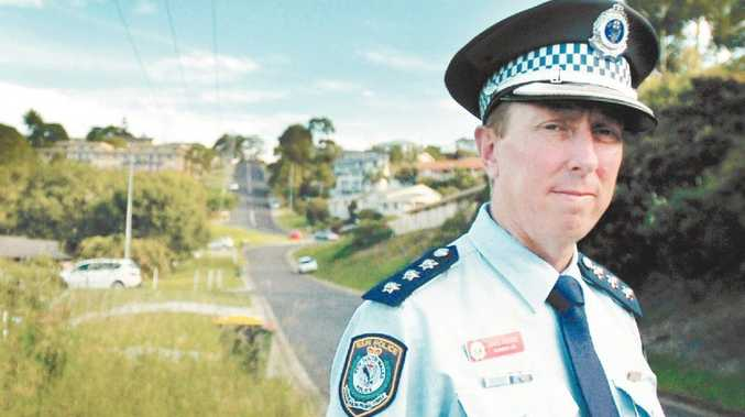 Richmond Local Area Command crime manager Detective Inspector Greg Moore.