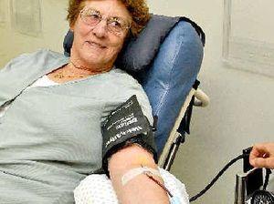 Flu season creates 'desperate' blood need
