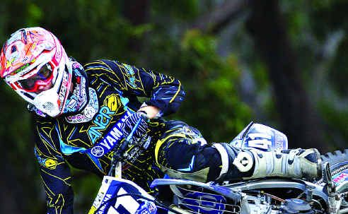 Sunshine Coast motocross star Ford Dale is only six points from the lead in the Queensland Pro Lites championship.