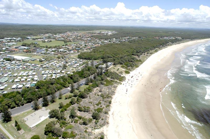Evans Head Airforce Beach