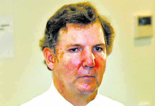 Budgeting: Area Health boss Chris Crawford.