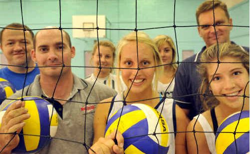 HEADS UP: Volleyballers with the Grafton club are hoping to prove a smash this season.