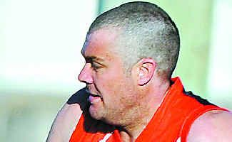 Man in charge: Work hasn't stopped Dave Meyers from coaching Sawtell.