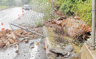 The landslide at The Gap in February is the latest reminder of the dangers motorists face.