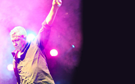 EMERALD BOUND: Jimmy Barnes is an Australian legend - and he's coming to the Highlands.
