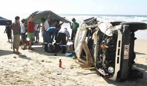 An inquest is currently underway into the deaths of three international tourists in two separate crashes on Fraser Island last year.