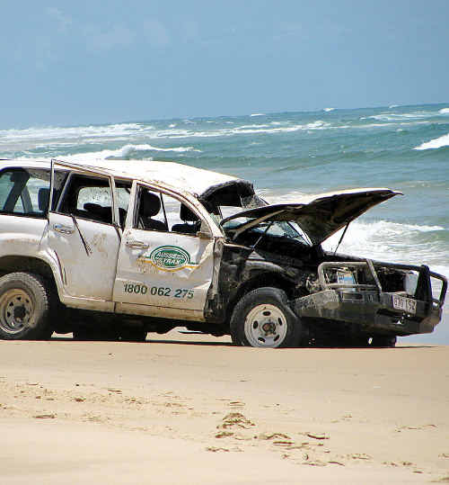 The 4WD accident claimed the life of Japanese tourist, Takeshi Sakai.