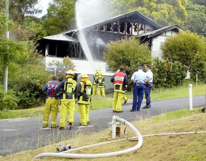 Girards Hill house fire
