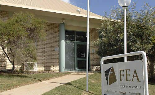 FEA administration building in Goonellabah.