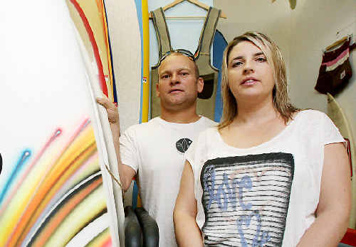 Underground Surf co-owners Andre Marsaus and Maree O'Connor have created a Safe Surfer Registry.