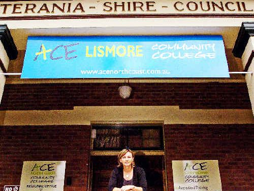 A file photo of ACE Community Colleges Lismore principal Kerry Johnson.