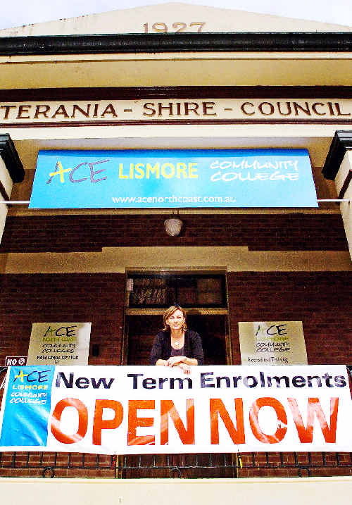 ACE Lismore Community College principal Kerry Johnson says her organisation is ready to meet the increased demand for adult education and training as the Northern Rivers experiences a population explosion over the next 26 years.