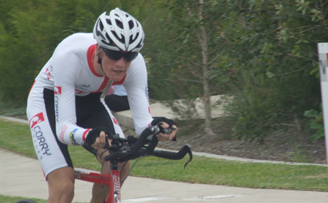 Proserpine's paracycling superstar David Nicholas claimed a silver medal in the national championships held at Caloundra last weekend and was selected to represent Australia at this August's world championships in Canada.
