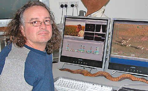 Professional filmmaker and editor Andy Bambach will run two courses in Lismore on film editing.