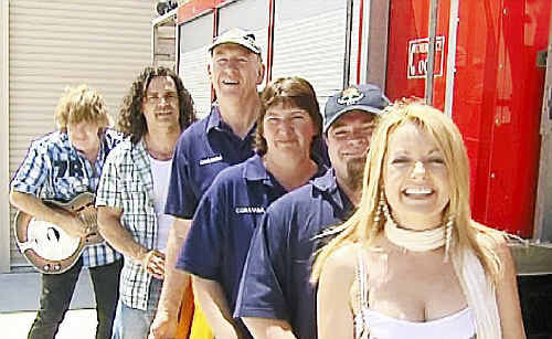 """Vanessa Lea will be performing her single """"Oh Coramba"""" at the official opening of the new Coramba Rural Fire Service Station today."""
