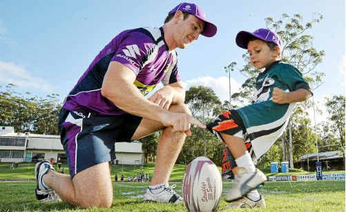 Former Gympie player Billy Rogers will be impacted by the Melbourne Storm salary cap scandal.