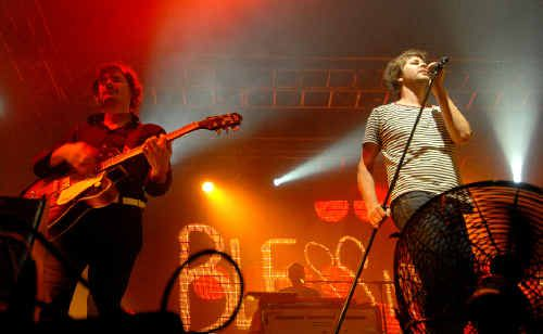 Darren Middleton and Bernard Fanning of Powderfinger. The band was last in Mackay in 2007 and will return with their Sunsets tour later this year.