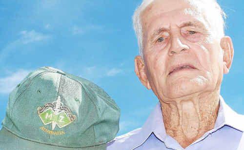 Former commando Reg Lahiff.