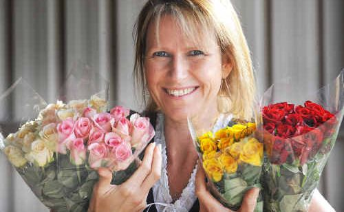 Skye Pullen, of Pullen Flowers, will have a display at this Sunday's Clarence Valley Wedding Expo.