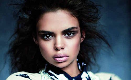 FRONT COVER: Former Banora Point model Samantha Harris will appear on the cover of Vogue Australia next week.