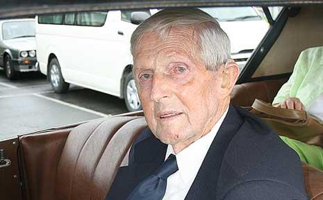 World War II veteran Jack Payne fought on the Kokoda Track.