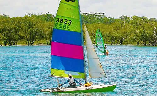 The Urunga Sail Training Club has been established in Jason Case's honour.