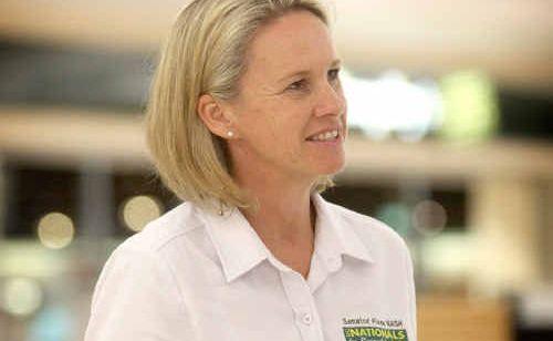 FEDERAL National Party Senator Fiona Nash.