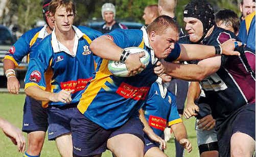 The Hammers union side plays on home soil again today against Caloundra.