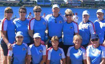 NSW Northern Region Team Members at Adelaide.