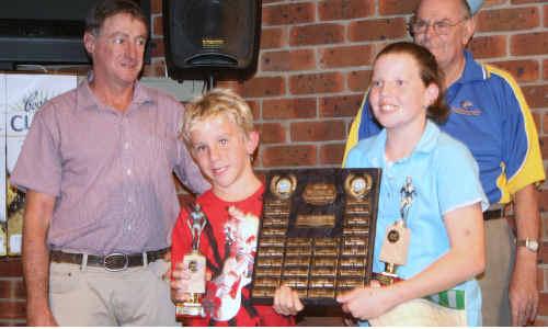 Grafton Amateur Swimming Club held its annual swimming club presentation night.