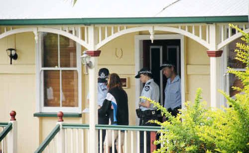 Life cut short: Police sealed off a Lawrence Street house and declared it a crime scene after the body of a 29-year-old man was found Sunday morning.