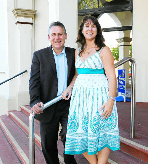 Rob Messenger is set to forge new territory as an independent with the support of his wife, Fern.