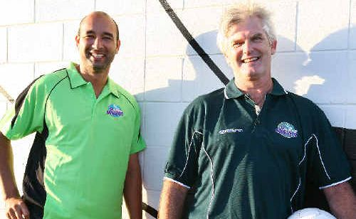 Troy Mundy and Russell Simpson are set to bring renewed stability to the Whitsunday Miners.